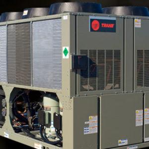 Điều hòa chiller trục vít Trane. Model: CGAM cung cấp sự kết hợp giữa hiệu quả cao, độ ồn thấp và kích thước nhỏ gọn, tiết kiệm năng lượng, tuổi thọ cao.