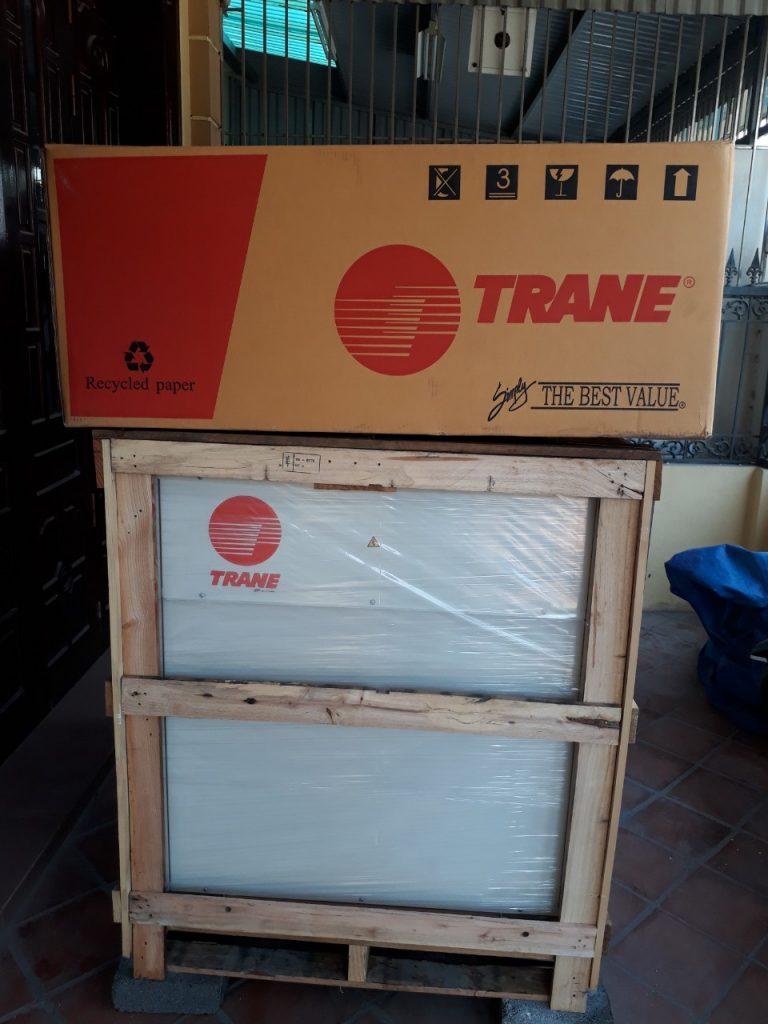 Dàn nóng điều hòa 120000 BTU. Model: TTA120RD00PA Trane Thái Lan