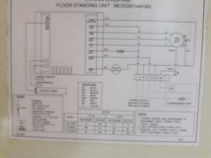 thông tin mạch điện điều hòa trane