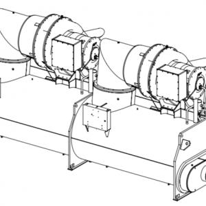 Chiller giải nhiệt nước CDHF
