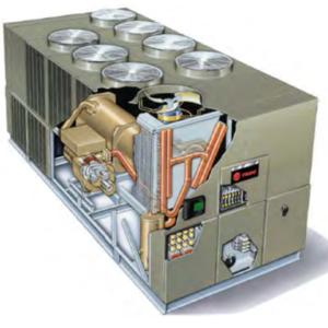 Chiller giải nhiệt gió Model: RTAG